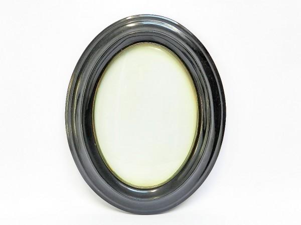 Rama foto de culoare ovala, neagra
