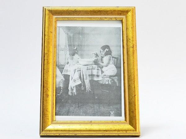 Rama foto vintage aurie