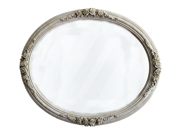 Oglinda ovala veche
